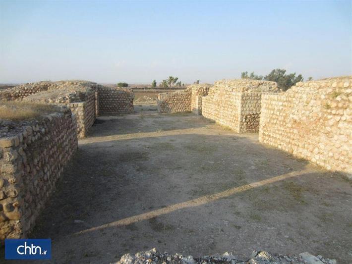 عمارت خسرو در شهر قصرشیرین پاک سازی شد