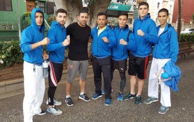 برنامه کاراته کاهای ایران در روز دوم مسابقات جهانی
