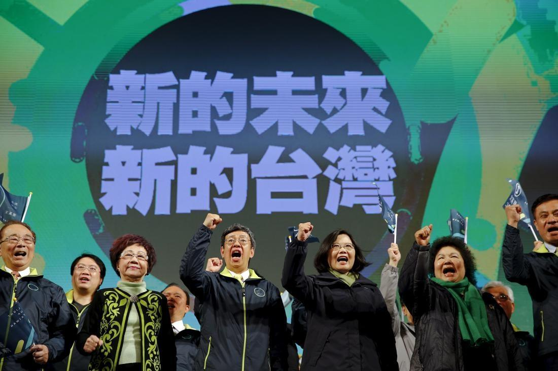 پایان 60 سال سلطه ملی گرایان بر مجلس تایوان