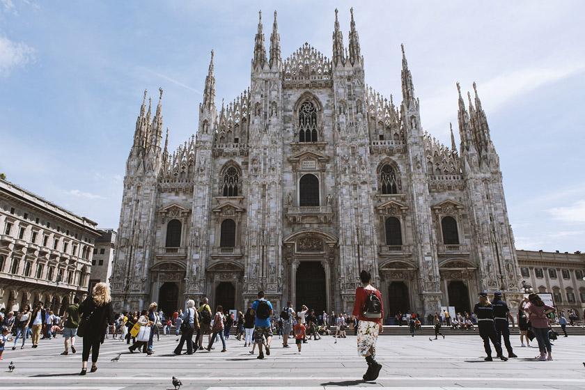 تماشا کنید: تصاویر هوایی زیبا از سراسر شهر میلان