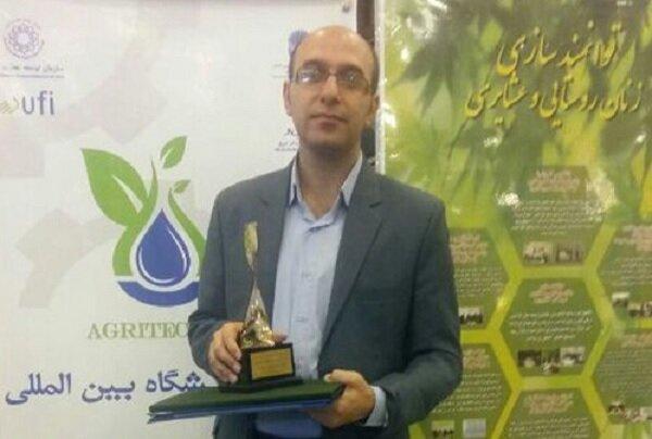 استاد دانشگاه شیراز دانشمند برتر آکادمی علوم دنیا شد