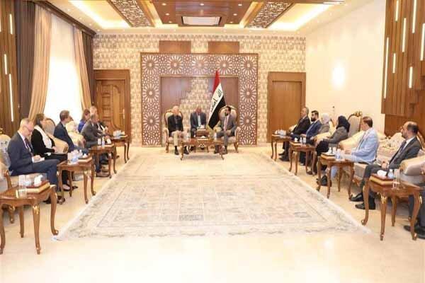 رایزنی حلبوسی با هیاتی آمریکایی در بغداد