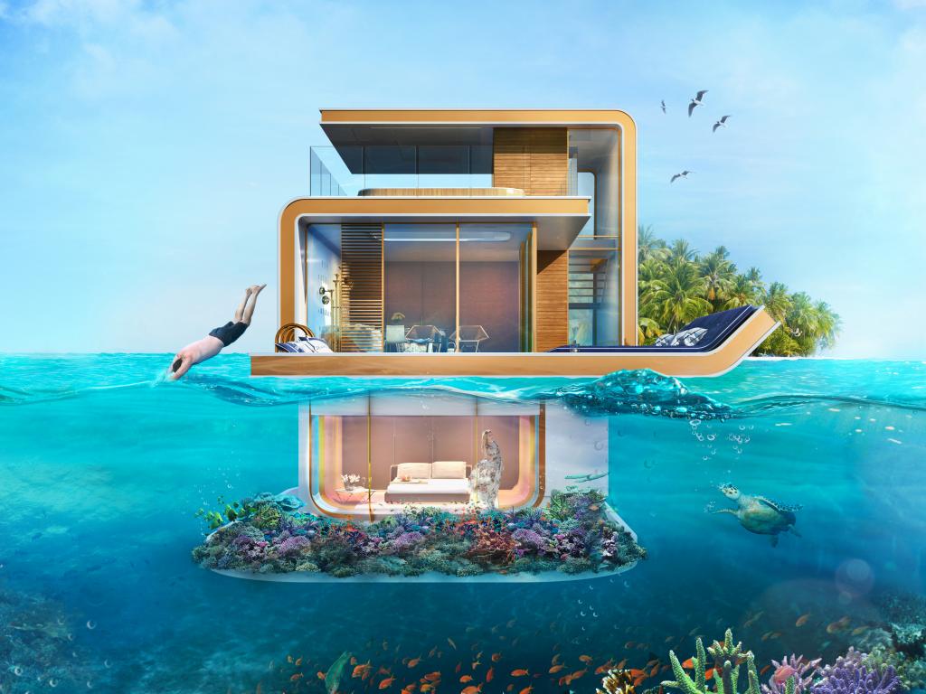 خانه های زیر دریا با تکنولوژی مدرن ساختمان سازی