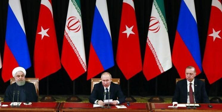 بیانیه نشست آستانه، ایران، روسیه و ترکیه خواهان بازگشت صلح به ادلب شدند