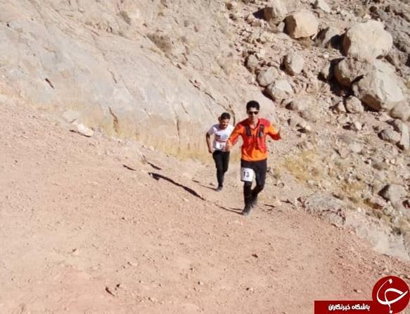 انتها مسابقات اسکای رانینگ در کرمان