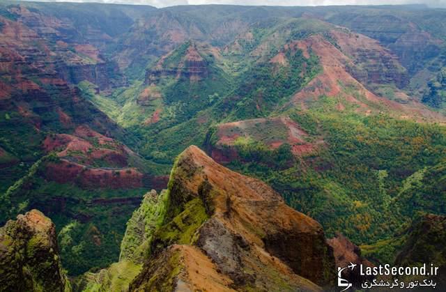 جاذبه های گردشگری هاوایی