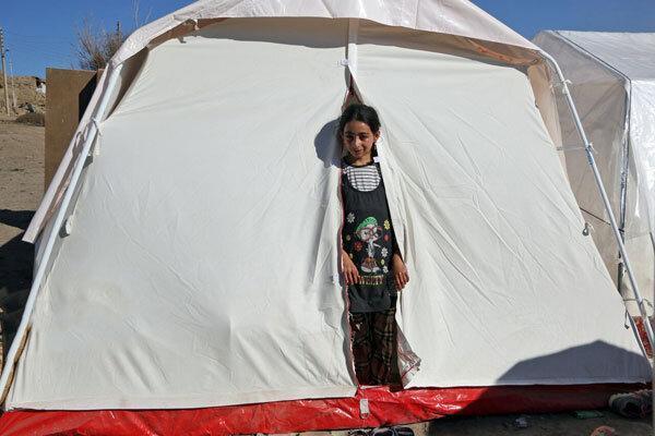 شرایط مناطق زلزله زده آذربایجان شرقی