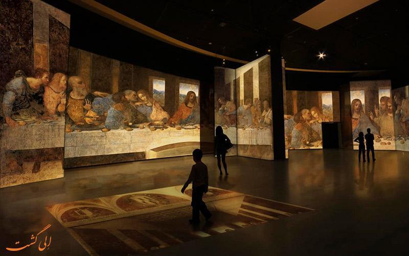 با هم در موزه لئوناردو داوینچی فلورانس چرخی بزنیم!