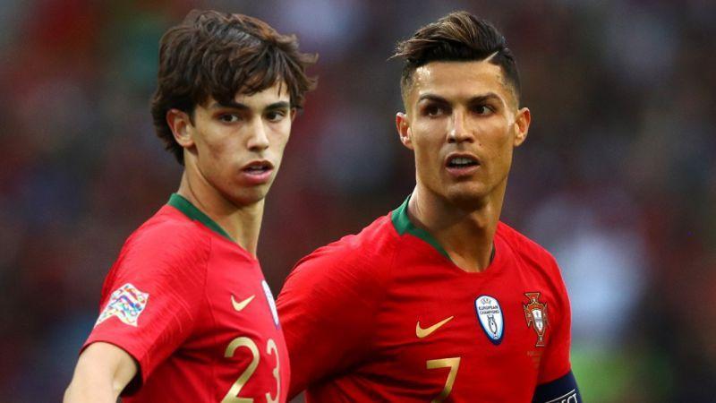 ستاره پرتغالی اتلتیکو: دوست دارم با رونالدو در یک باشگاه بازی کنم