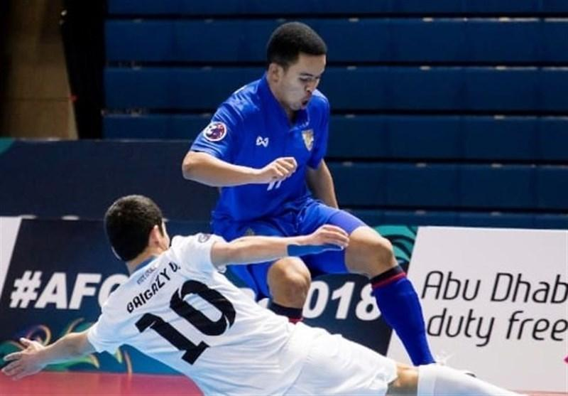 فوتسال قهرمانی آسیا، لبنان با راهنمایی مربی ایرانی صدرنشین شد؛ تایلند دوم