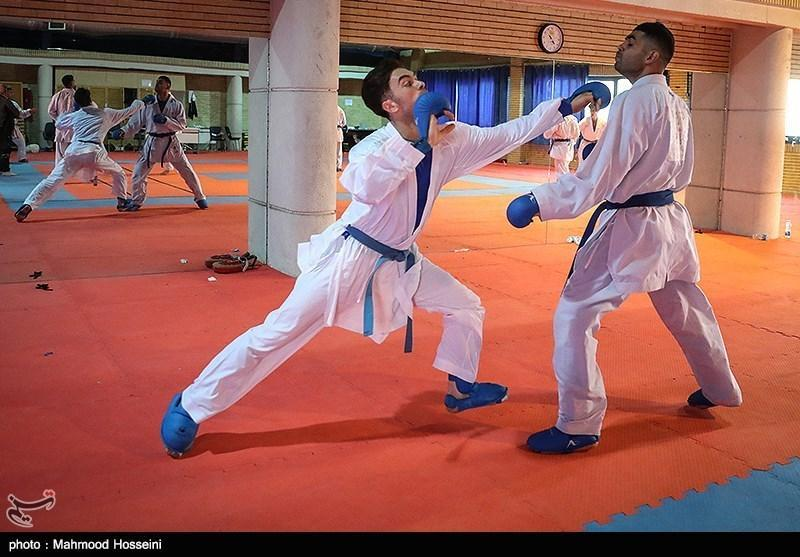 اردوی 8 روزه ملی پوشان کاراته ایران در شهر پاریس