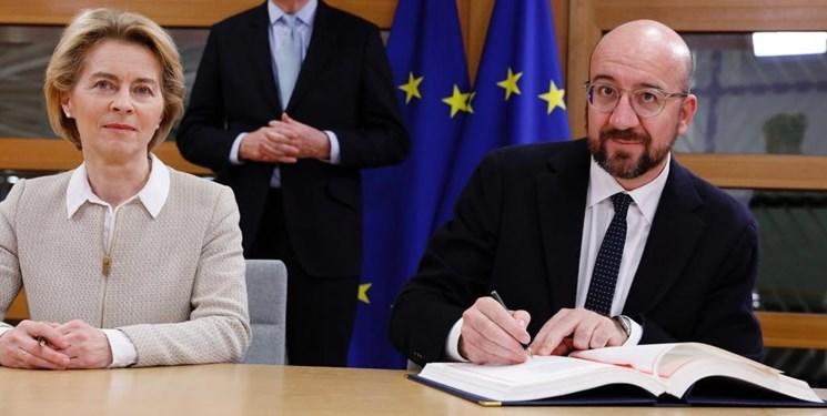اتحادیه اروپا هم برگزیت را امضا کرد، سرانجام اتحاد لندن و بروکسل