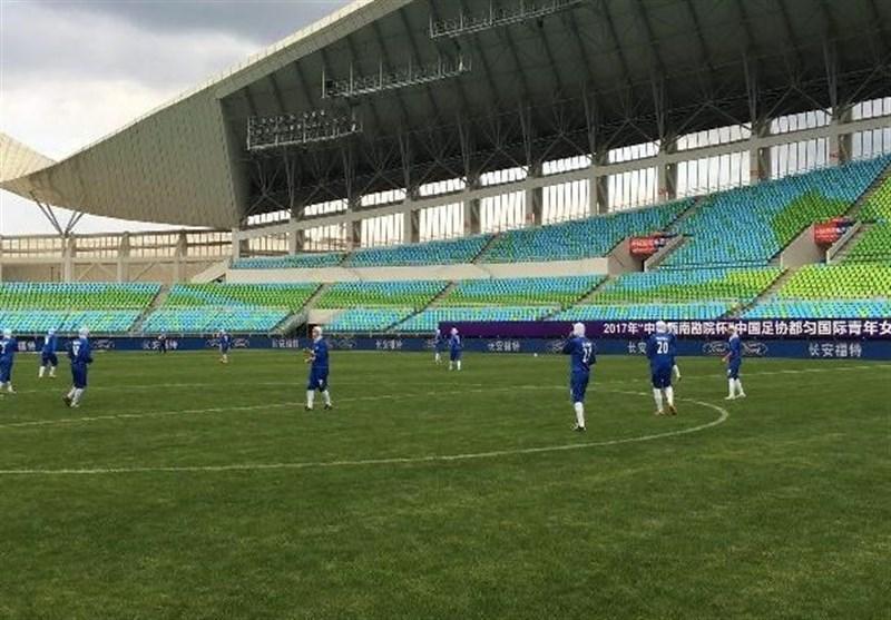 فوتبال دختران زیر 16 سال آسیا، شکست تیم ایران برابر تایلند