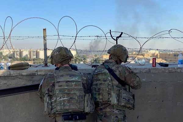 سفارت آمریکا در بغداد پایگاه نظامی با زرادخانه ای از سلاح است