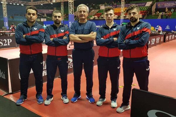 عملکرد تیم ملی تنیس روی میز مقابل اسلوونی عالی بود فقط نبردیم