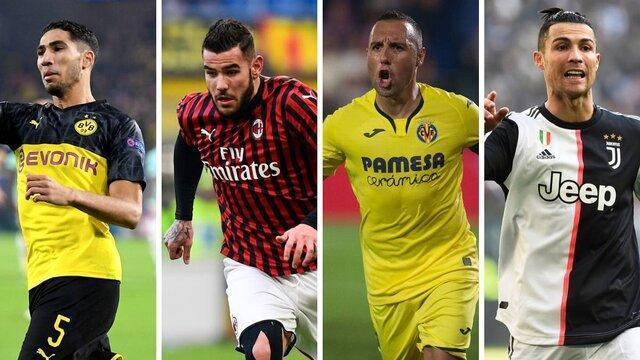 برترین گلزنان لیگ های اروپایی در هر پست