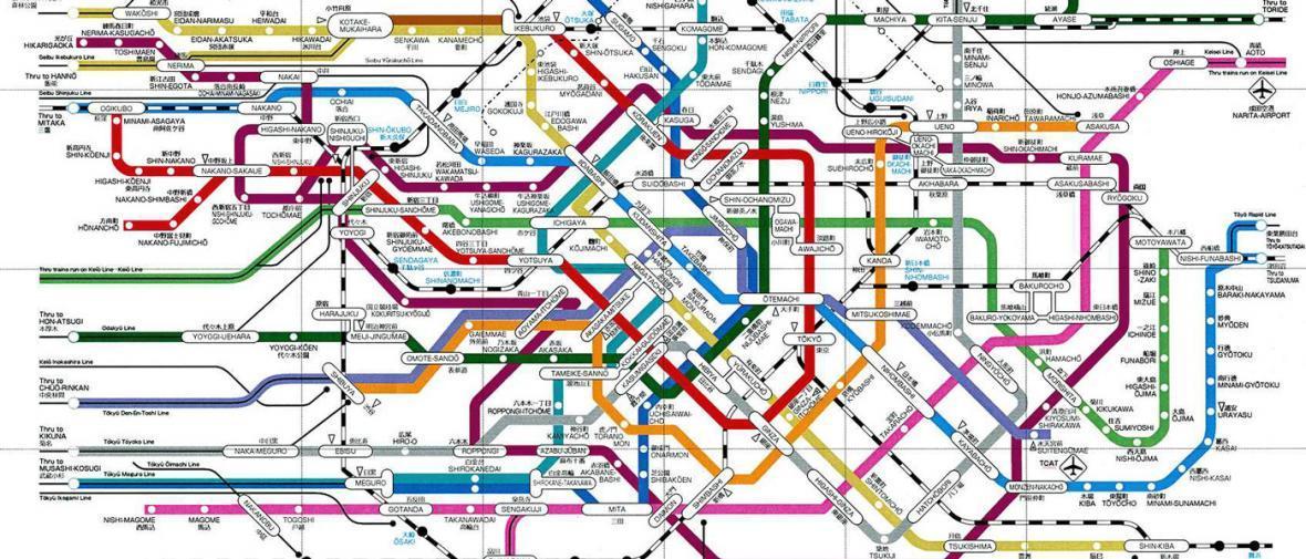 بزرگترین شبکه های مترو جهان