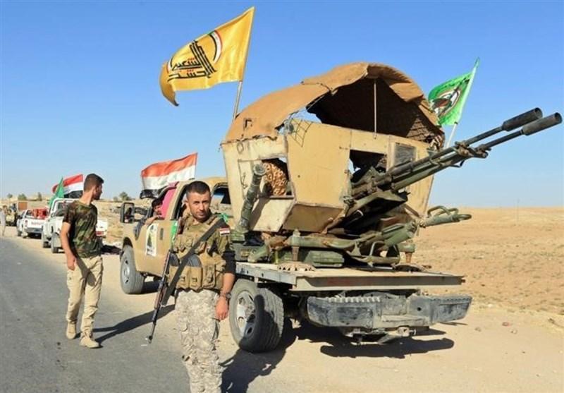 عراق، عملیات حشد شعبی علیه تروریست های داعشی در شرق صلاح الدین
