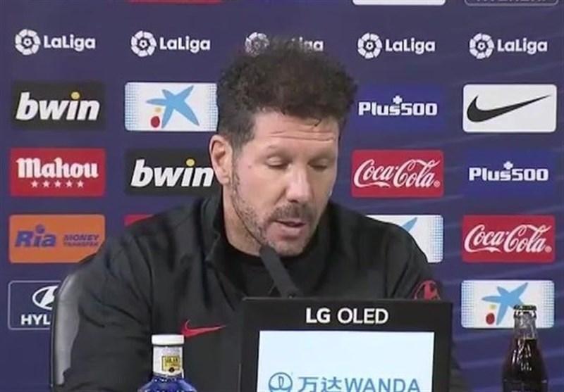 سیمئونه: فعلا بازی ما در لیگ قهرمانان اروپا اهمیتی ندارد! ، فلیکس به بازی مقابل لیورپول می رسد