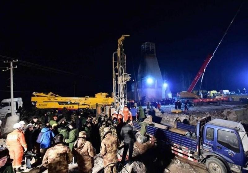 کشته شدن 12 نفر در آتش سوزی معدن سنگ آهک در چین