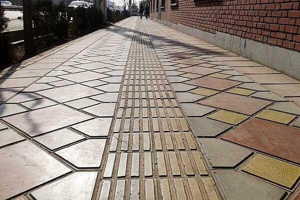جهت ویژه نابینایان از پیاده راه ها حذف نه، بهتر می گردد