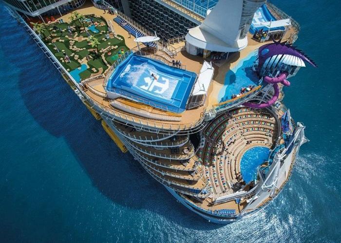کشتی کروز تفریحی عظیم توازن اقیانوس