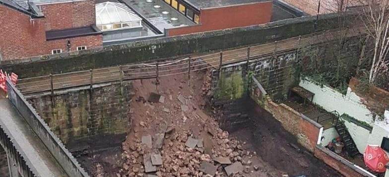 دیوارهای باستانی چِستر در خطر اجرا پروژه های عمرانی
