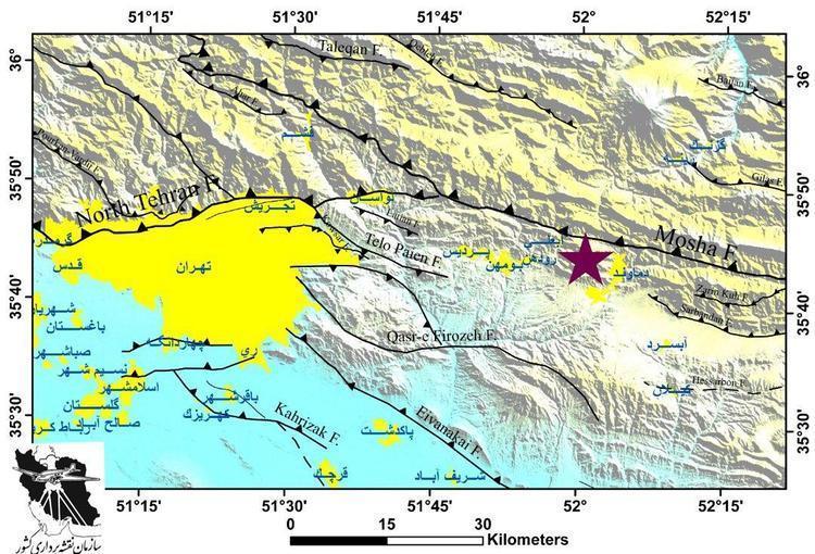 زلزله تهران و گسل مشا؛ گسل مشا پس از 190 سال باعث وقوع زلزله در تهران شد؟