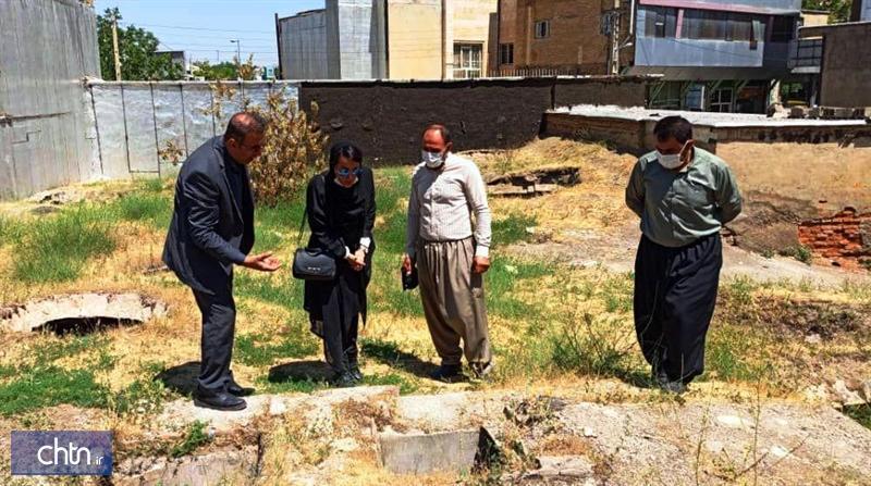 سرپرست شهرداری بانه از پروژه در دست بازسازی حمام مرزبانی بازدید کرد