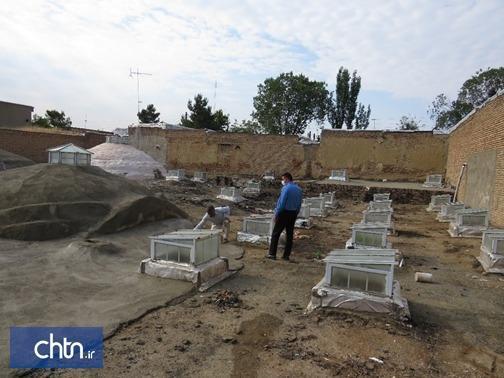 بازسازی حمام شیخ در سلماس به سرانجام می رسد