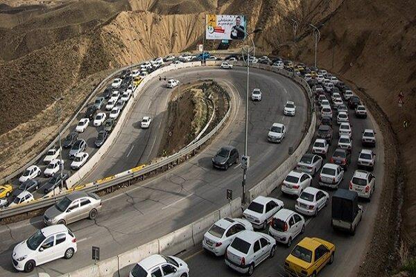 شرایط ترافیک در محورهای شمالی کشور