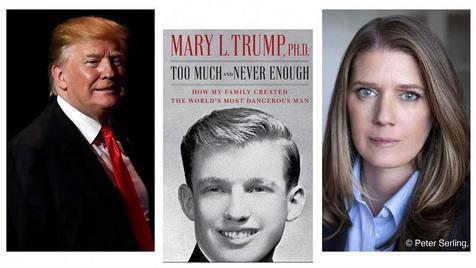 رکوردشکنی کتاب برادرزاده ترامپ ، چطور خانواده من خطرناک ترین مرد جهان را خلق کرد؟