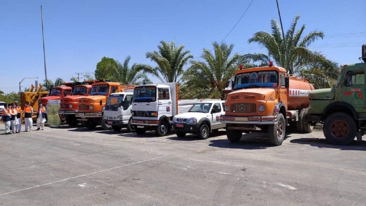 8 دستگاه ماشین آلات راهداری و حمل ونقل جاده ای جنوب سیستان و بلوچستان بازسازی شد