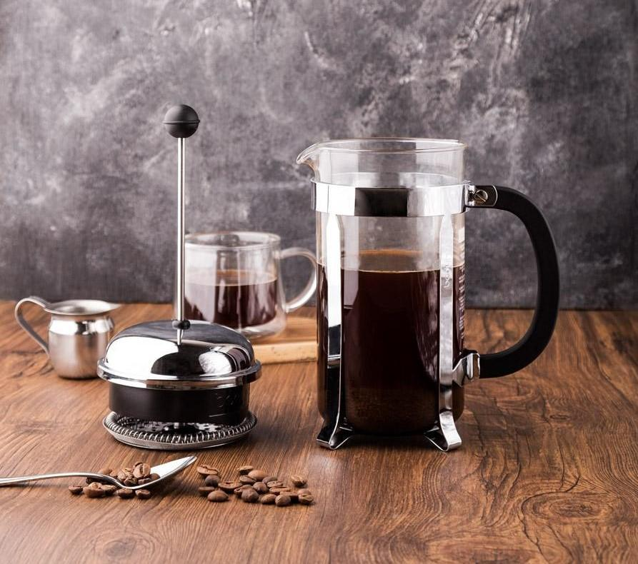 طرز تهیه قهوه فرانسه با فرنچ پرس