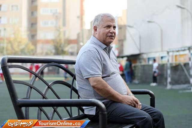 علی پروین در سیمایی که تا به حال ندیده اید، عکس