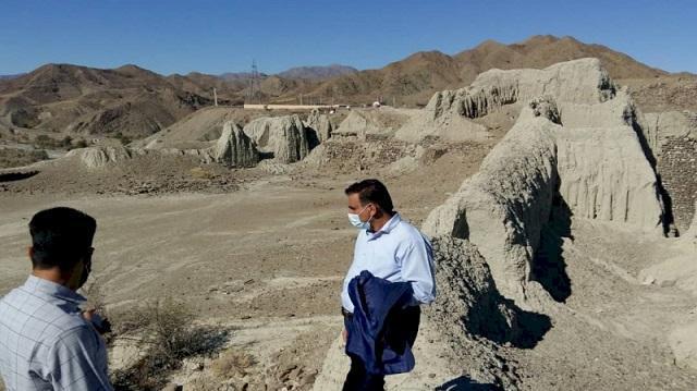 قلعه الله وردی خان بشاگرد بازسازی می گردد