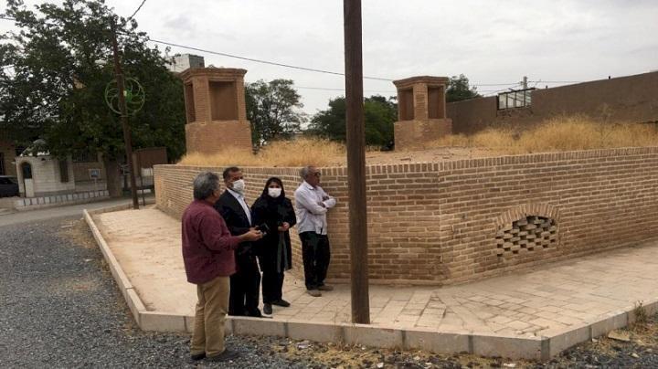 آب انبار ابراهیم آباد اراک بازسازی می گردد
