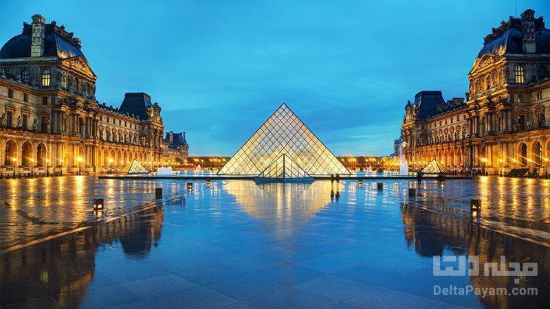 لوور فرانسه؛ بزرگترین موزه هنری دنیا