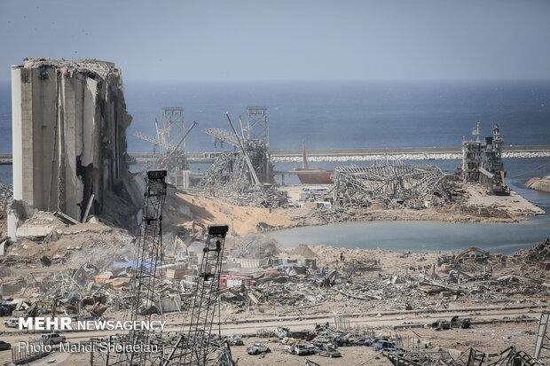 بازسازی بندر بیروت به بیش از 2 میلیارد دلار هزینه احتیاج دارد