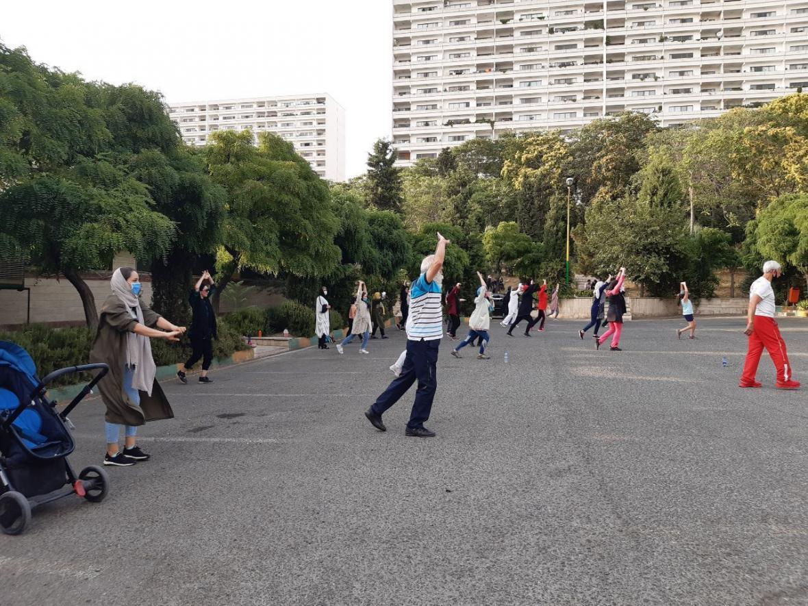 خبرنگاران 60 درصد شهروندان تهرانی کم تحرک هستند