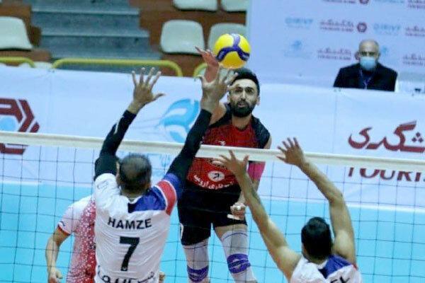 پیروزی هراز آمل مقابل شهرداری ورامین