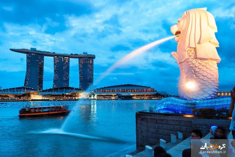 پارک مرلیون، نماد شهر سنگاپور
