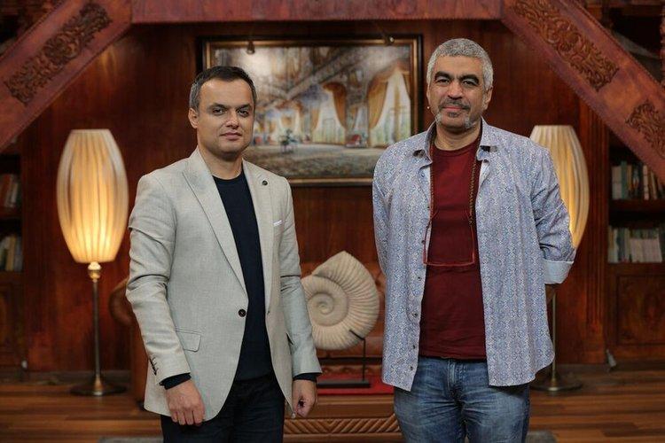 (عکس) مجری برنامه عادل فردوسی&zwnjپور، مهمان سروش صحت شد