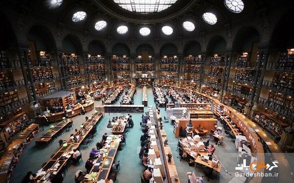 کتابخانه ملی فرانسه؛ قدیمی ترین کتابخانه ملی دنیا، عکس