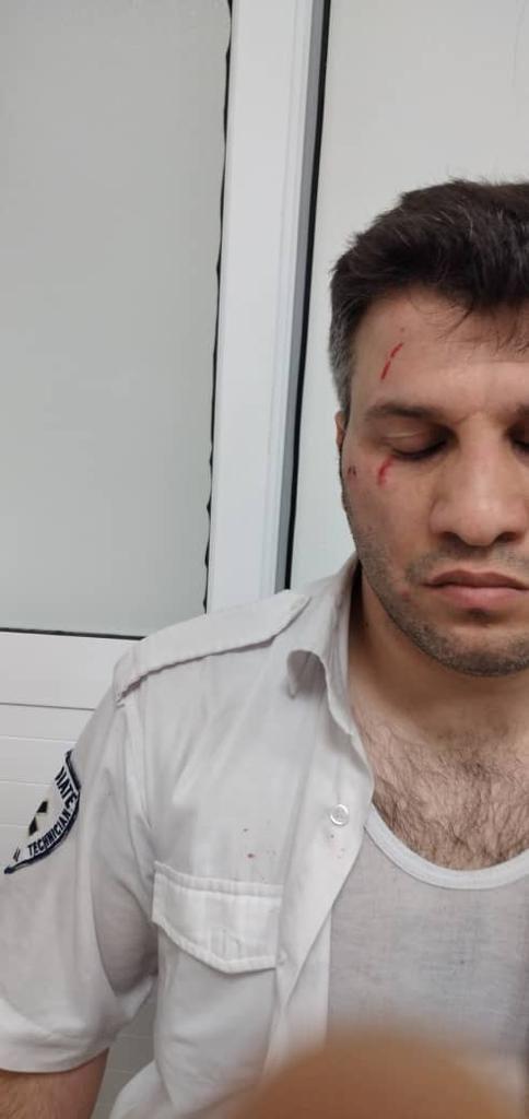 ضرب و شتم تکنسین اورژانس تهران هنگام ماموریت