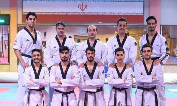 حضور ملی پوشان تکواندو ایران در اردوی مشترک بلغارستان
