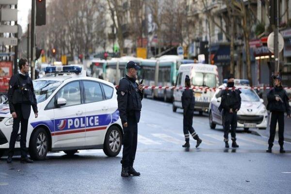 حمله با چاقو در فرانسه، یک نیروی پلیس کشته شد
