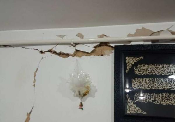خبرنگاران زلزله مریوان به منازل مسکونی در 23 روستا خسارت وارد کرد