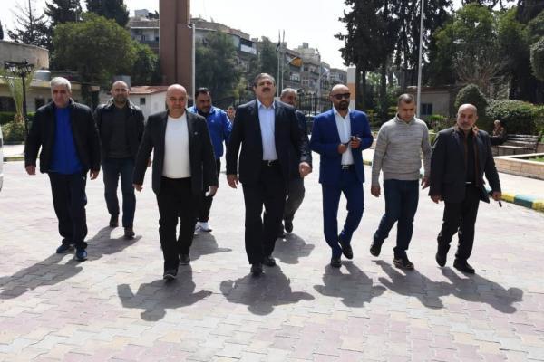 خبرنگاران جدیدی با مسوولان کشتی سوریه ملاقات کرد