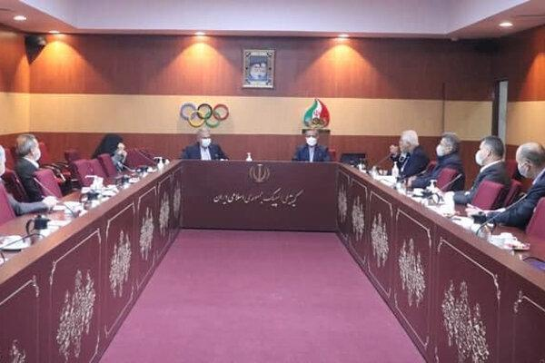 برگزاری هیات اجرایی کمیته ملی المپیک بدون موضوعات المپیکی